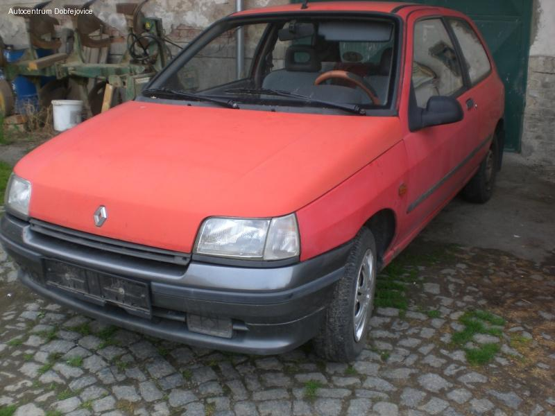 Renault Clio 1.2, E7F H7 KAT, 40kW, r.v. 1991 na ND.