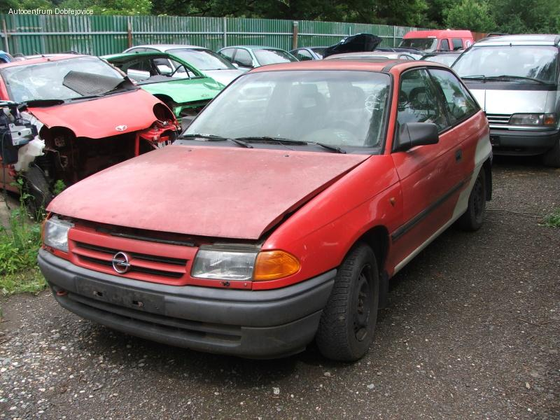 Opel Astra F 1.7 D, 17 DR KAT, 44kW, r.v 1993 na ND